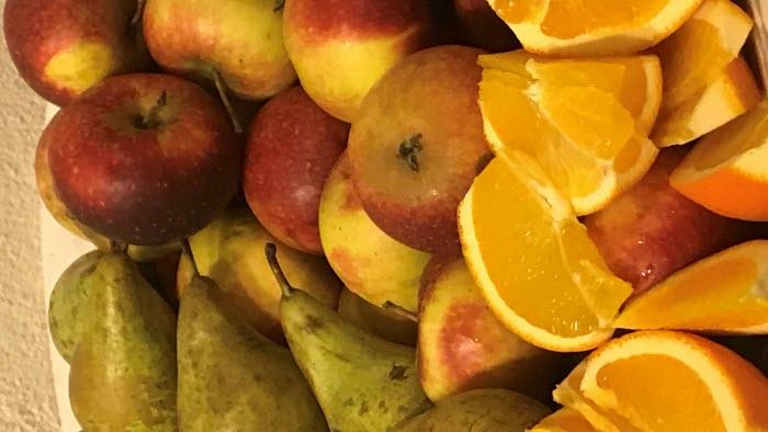 Olika frukter