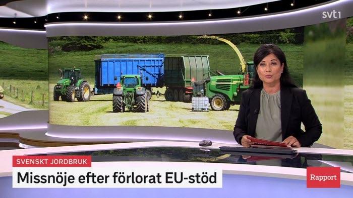 Jennie Nilsson anser att det inte är pengar som bönderna behöver i CAP