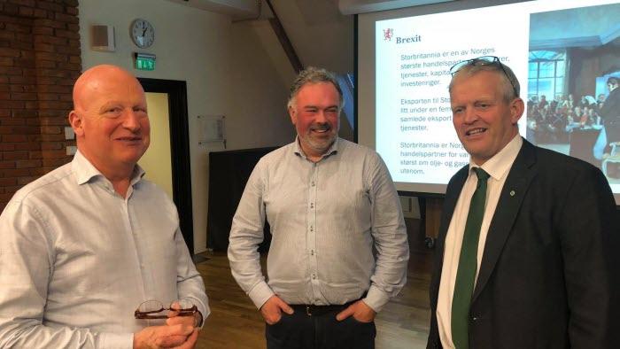 Anders Richardsson, Patrik Ohlsson och Nils T Björke