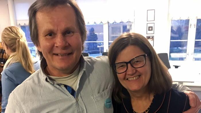 Olle Göransson med fru Dialogdagen Hagfors