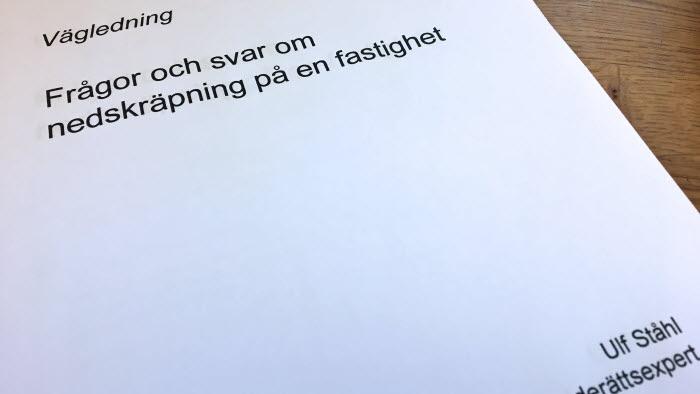 Framsida Vägledning Nedskräpning 2017 Ulf ståhl