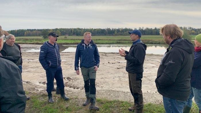 Morgan Johansson berättar vad man ska tänka på vid anläggande av våtmark