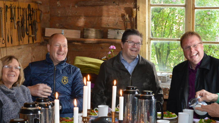 Agneta Börjesson, Hans Hoff, Larry Söder, Bengt Eliasson