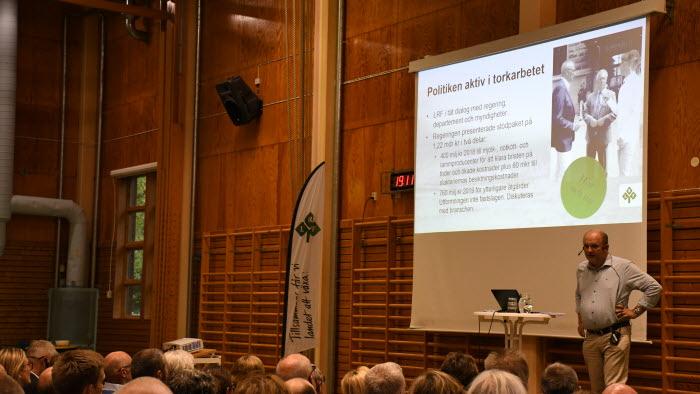 Lennart Nilsson talar