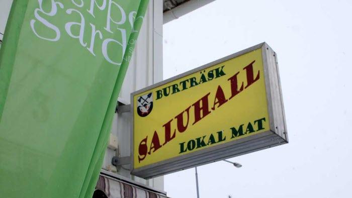 På fredag invigs saluhallen i Burträsk av LRF Västerbottens ordförande Arne Lindström.