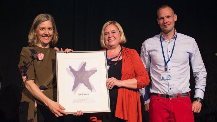Västervik vann 2017 års Sjöstjärnan