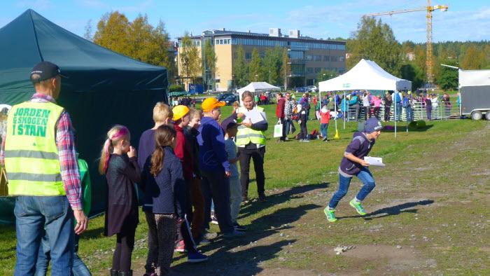 Jorden och skogen i stan i Umeå