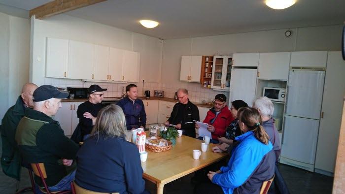 Karlsborgsbygdens LRF besöker Vadsbo Mjölk