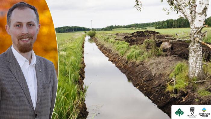 En storsatsning på ökad kunskap om markavvattning drar igång under hösten. Jon Wessling från LRF är en av projektledarna.