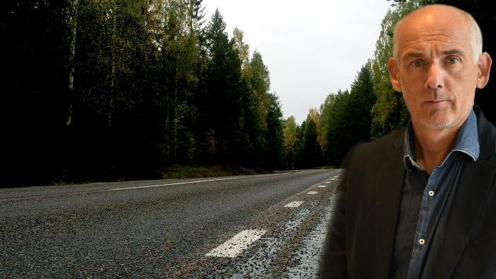 Mikael Bäckström är nöjd med att Trafikverket
