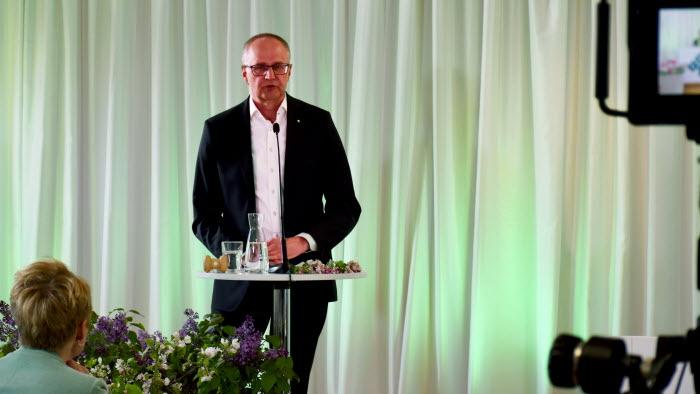 Palle Borgström inledningstalar på Riksförbundsstämman 2020