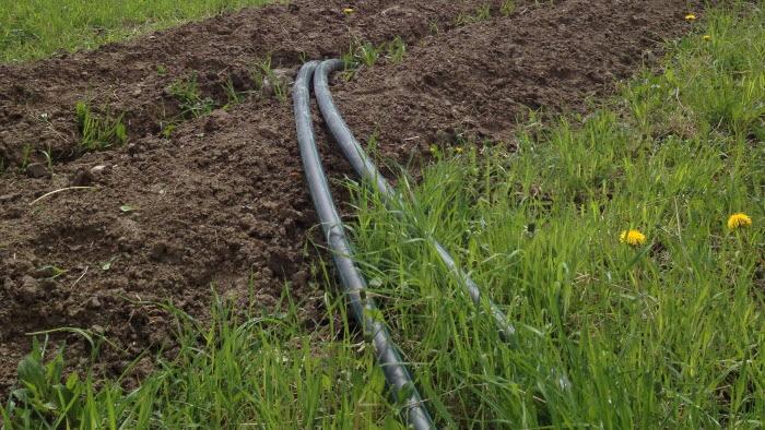 Grävning för bredband