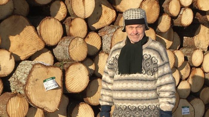 Ragnar Johnsen, jord- och skogsbrukare i både Norge och Sverige