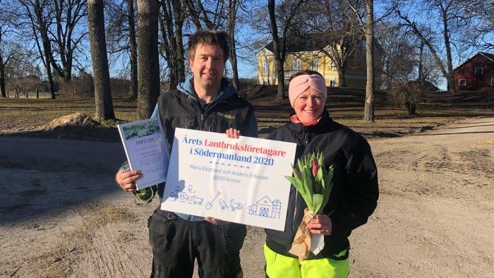 Anders Eriksson och Maria Ekstrand Kjulsta gård