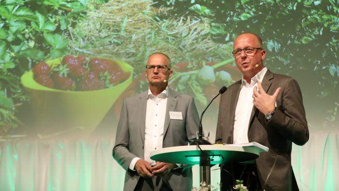 Palle Borgström och Anders Källström