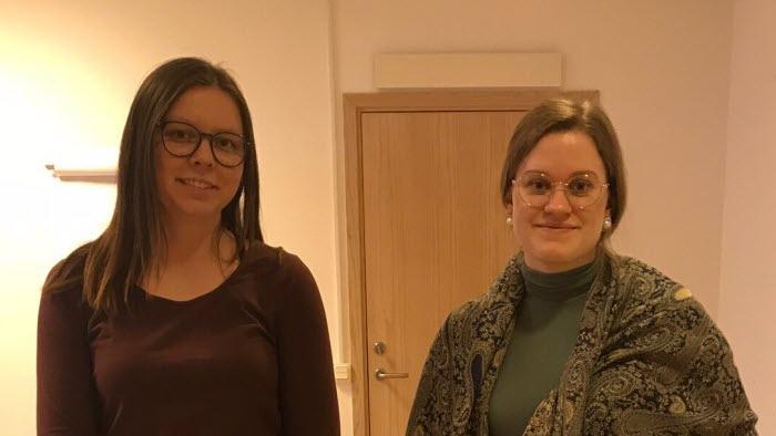 Emma Svensson och Cecilia Avelyne