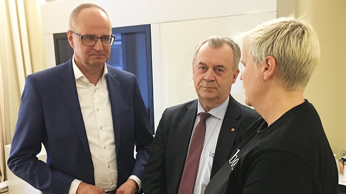 Palle och Tina Rudolphson träffar landsbygdsministern angående de hat och hot som drabbar bönderna
