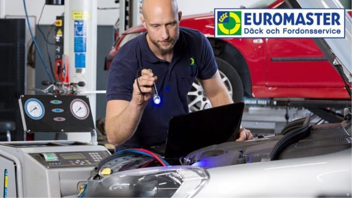 Euromaster, service, bil, däck