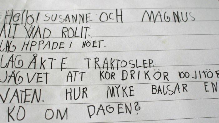 Gårdsbesök, Komleryd, Halland