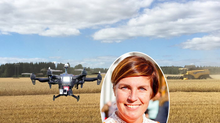 Anna Ross pratar framtidens jordbruk i podden Landet