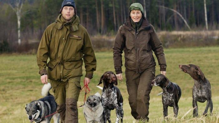 Jakt med hundar