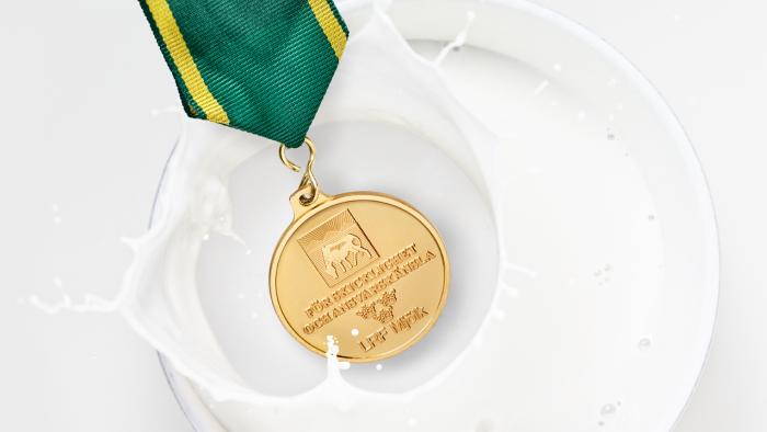 LRF Mjölk guldmedalj