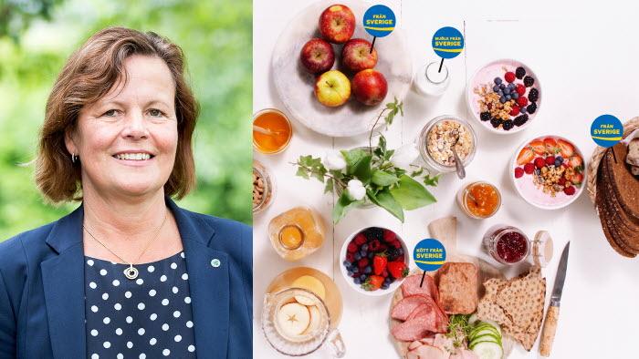 Åsa Odell gläds över att Visita nu erbjuder sina restauranger Från Sverige-märkning.