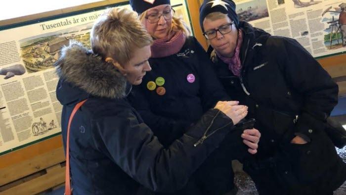 Anna Karin Hatt LRF:s VD, Mona Holmsten, Johanna Ivarsson