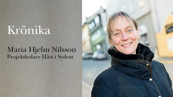Krönika Maria Hjelm Nilsson