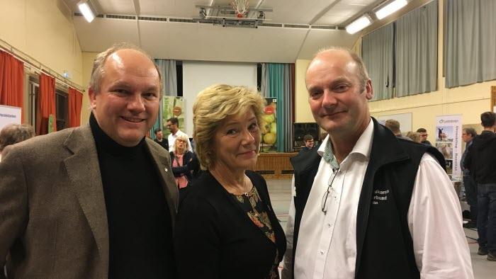 Lennart Nilsson, Maria Larsson, Per Willén