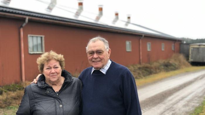 Gun-Britt och Bror Jansson, Avelsäters gård, Säffle