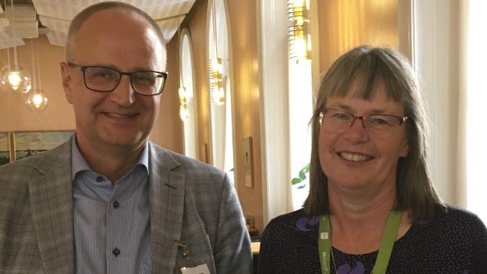 Palle Borgström och Stina Bergström, MP