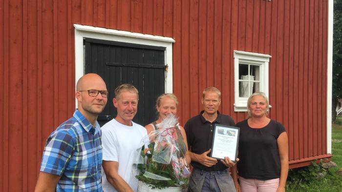 Rådde Gård Årets Nötsköttsföretagare i Sjuhärad 2018