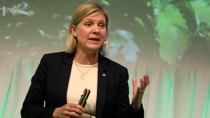 Magdalena Andersson besöker LRFs Riksförbundsstämma 2018