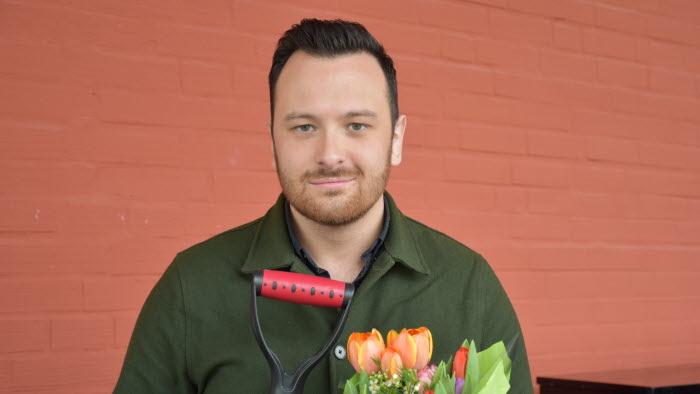 Göteborgspostens reporter Michael Verdicchio