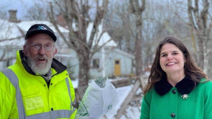 Valle Viktorsson och Sofia Karlsson