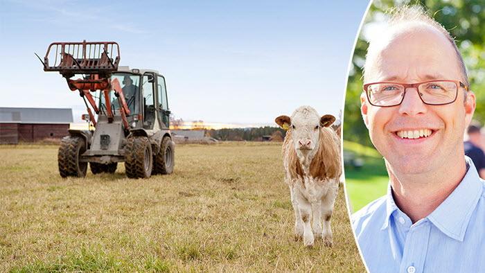Större gårdar bäst för miljön