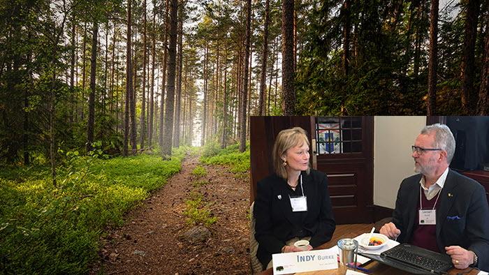 yale university bjöd in lrf skogsägarna för snack om svenskt familjejordbruk