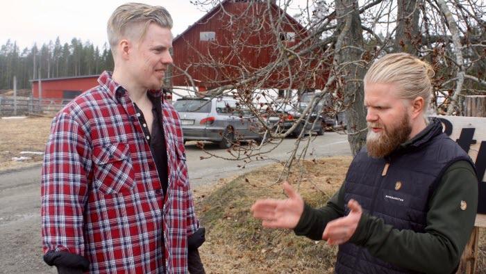 Simon Renström Jon Oskar Aranson, Bryggargatan skellefteå