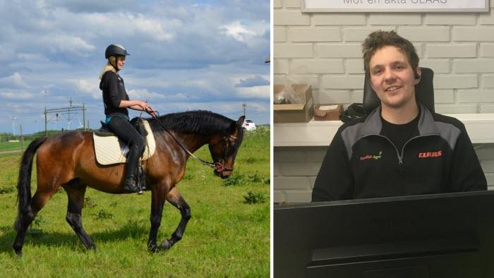 Två nya ledamöter i LRF-ungdomen Halland, Hallands nyhetsbrev 20200214