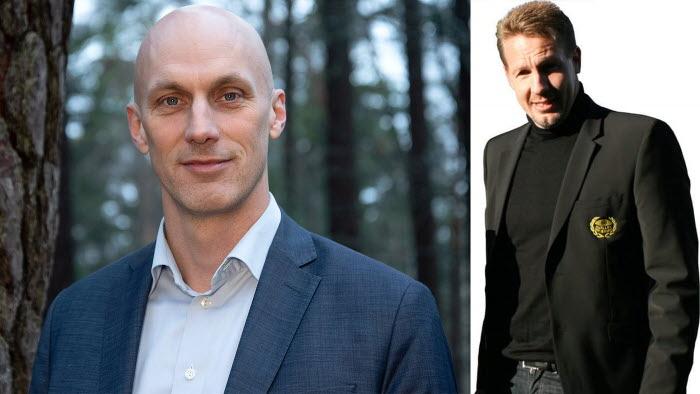 Nya ledamöter i Jämställdhetsakademin. Fredrik Munther och Jörgen Martinsson.