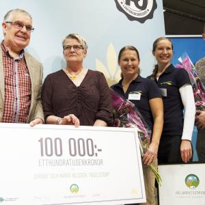 Vinnarna av Hållbarhetsstipendiet 2014