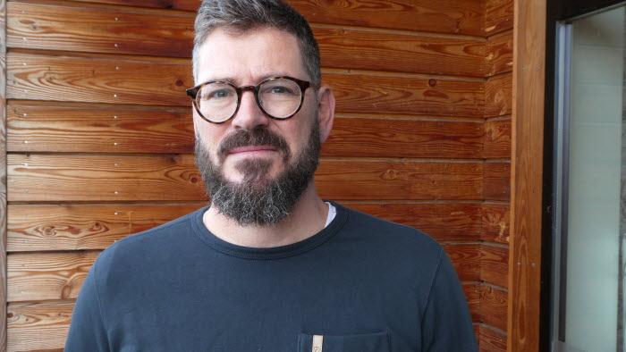 Carl Selling koominkatör på LRF kontoret i Vreta Kluster