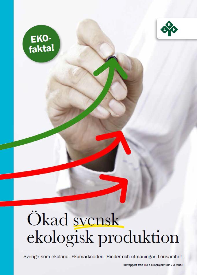 Faktabok Sverige som Ekoland webbild
