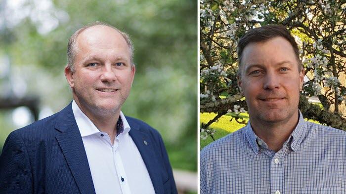 Kollage: Lennart Nilsson och Fredrik Andersson