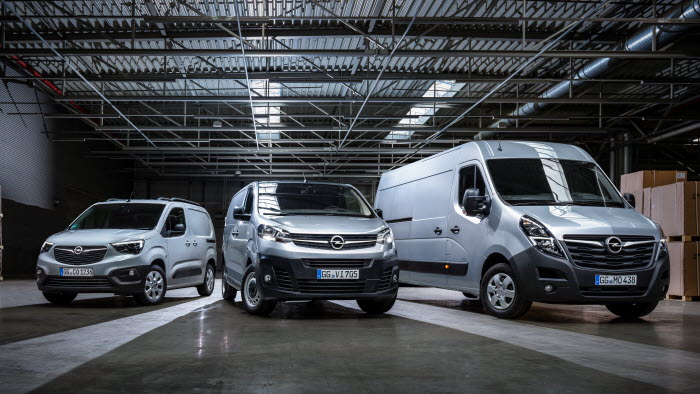 Opel transportbilar