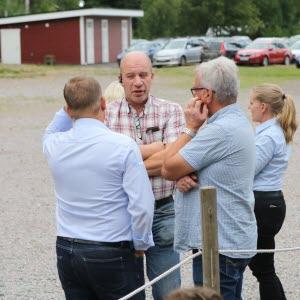 Bengt Söderberg i samspråk.