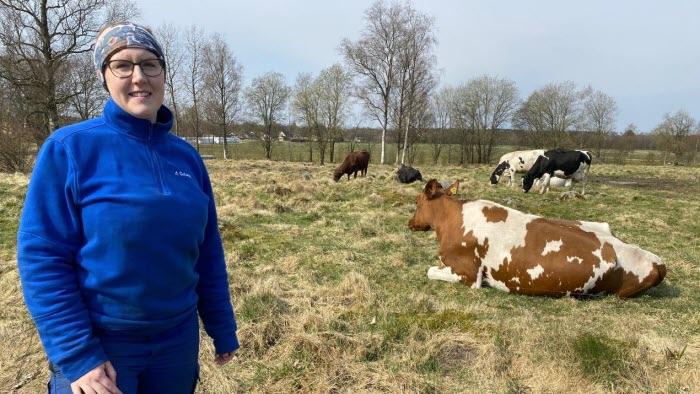 Malin Gustavsson, ekologisk mjölkbonde