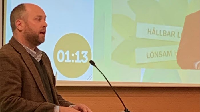Riksförbundsstämma 2020 Johan Lagerholm