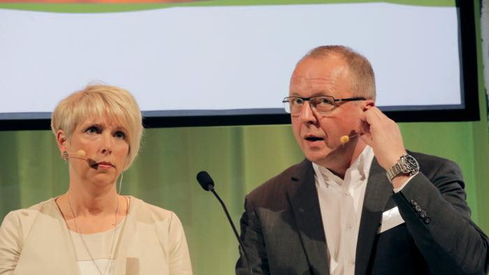 Helena Jonsson och Anders Källström på 2015 års riksförbundsstyrelse